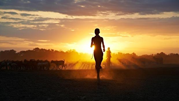 Steve McCurry - Sunrise Sunset Ethiopië