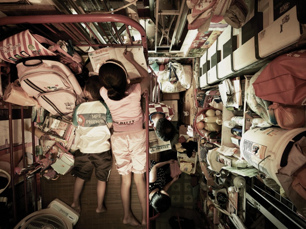 Life in a shoebox - Benny Lam