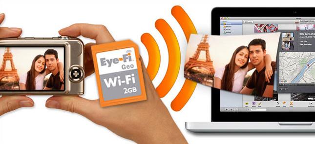 DeLock CF adapter voor Eye-Fi SD geheugenkaartjes