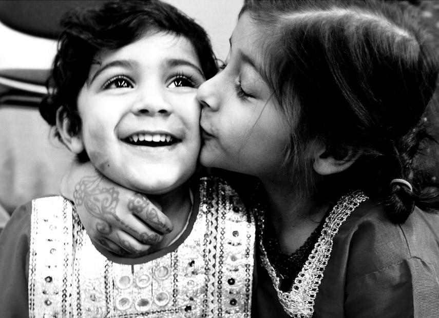 Familie liefde in Pakistan © Venty Fitriany Nurunisa