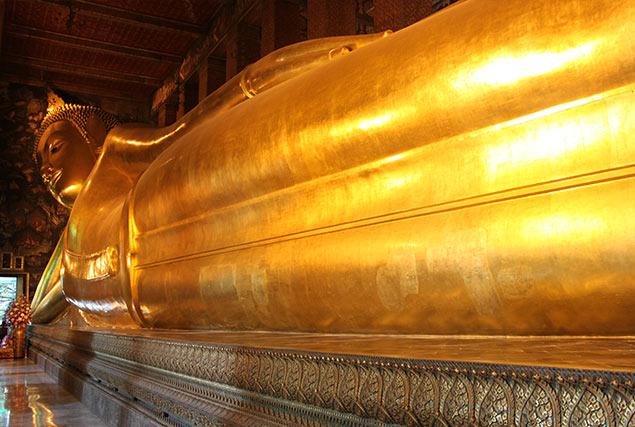 Wat Pho: Tempel van de grote liggende Boeddha