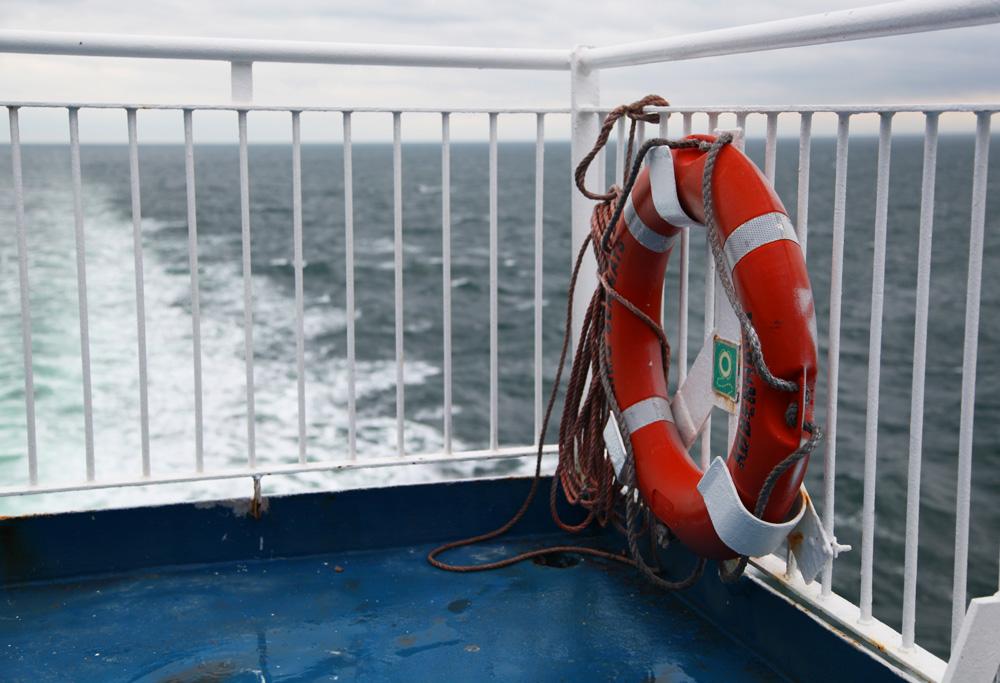 Aan boord van de Princess Seaways