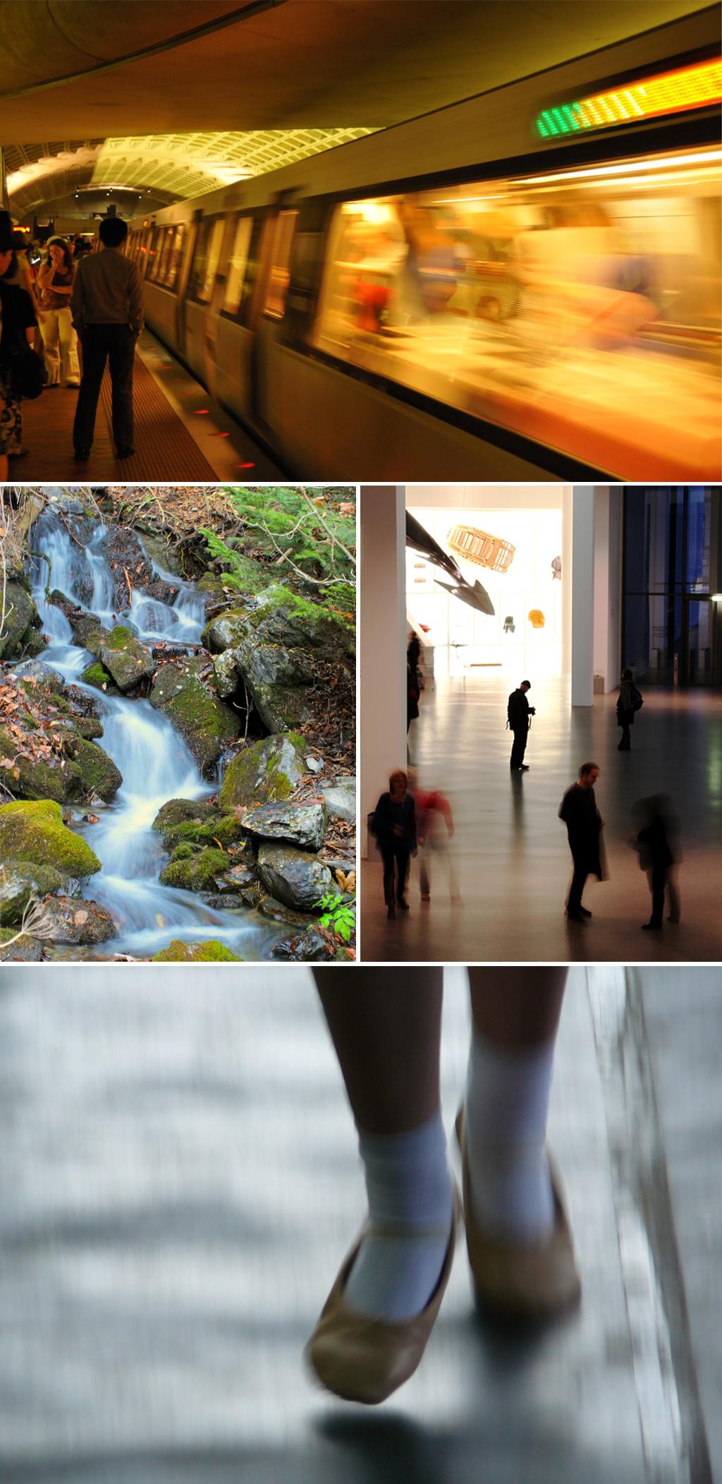 Fotoprojecten - Experimenteer met sluitertijden