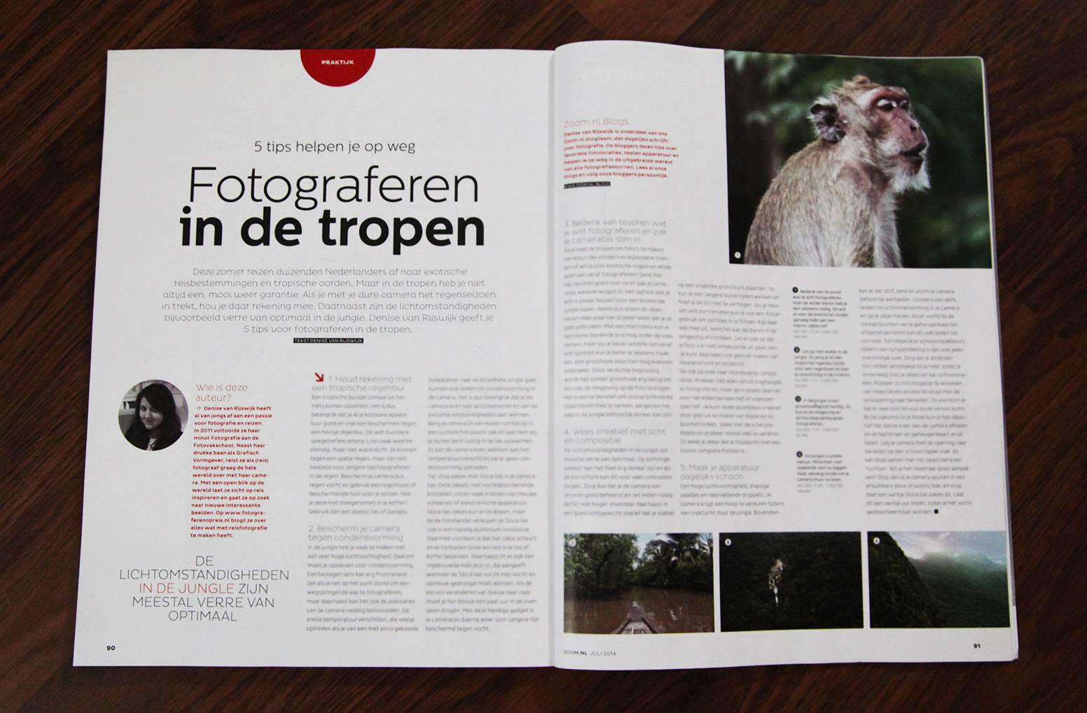 Zoom.nl - Fotograferen in de tropen