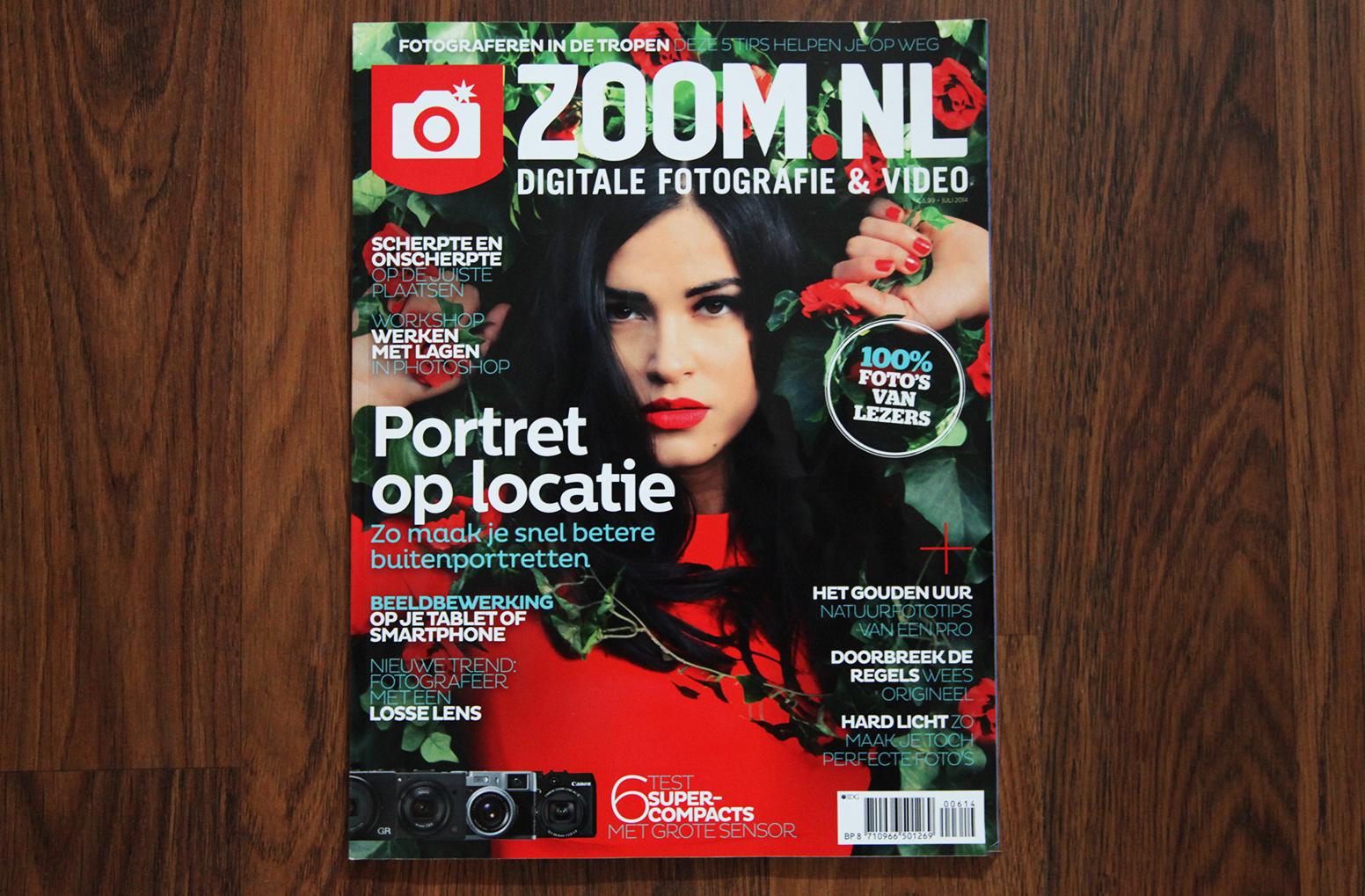 Zoom.nl cover van juli 2014
