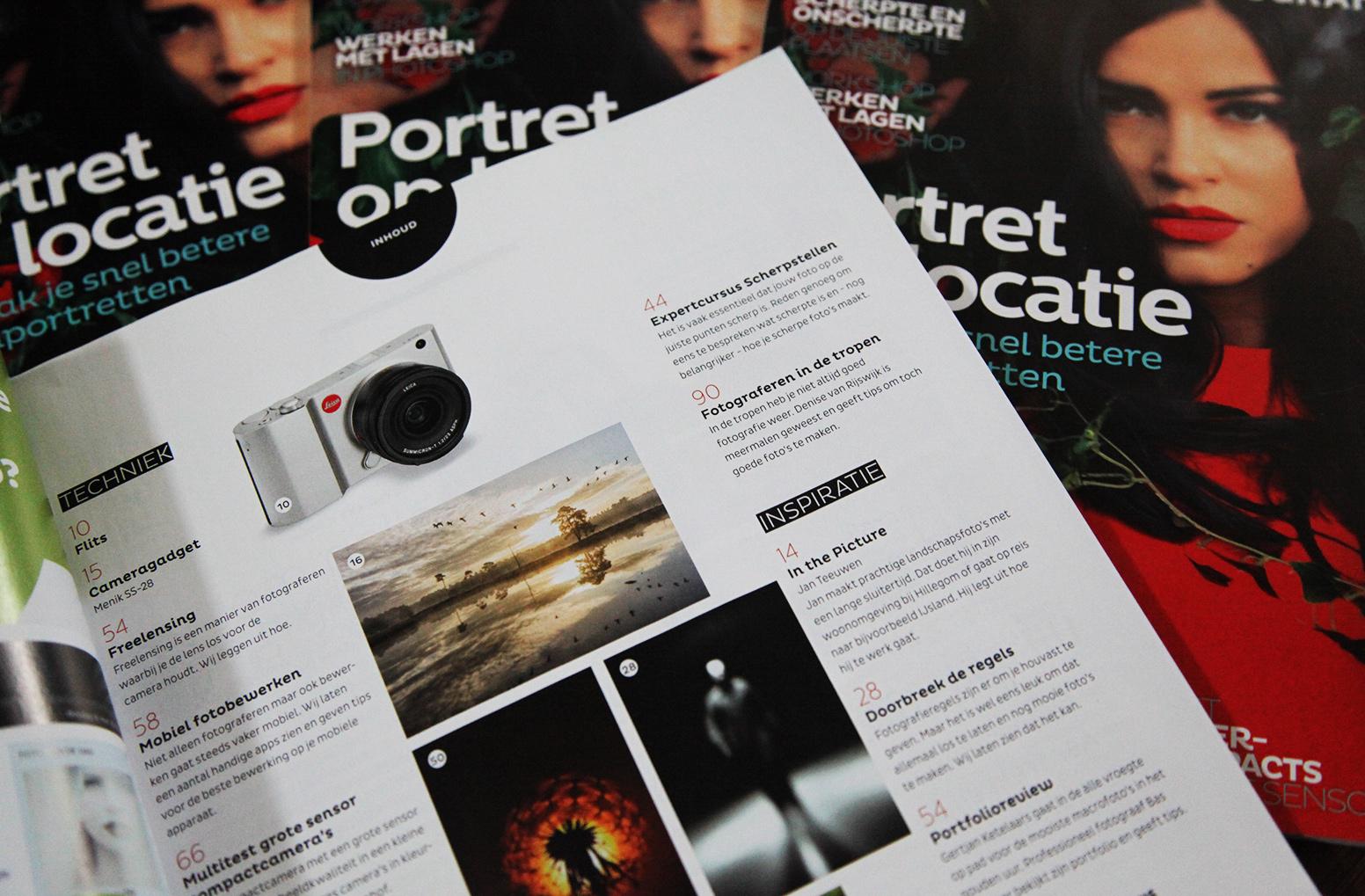 Fotograferenopreis.nl staat deze maand in de Zoom.nl