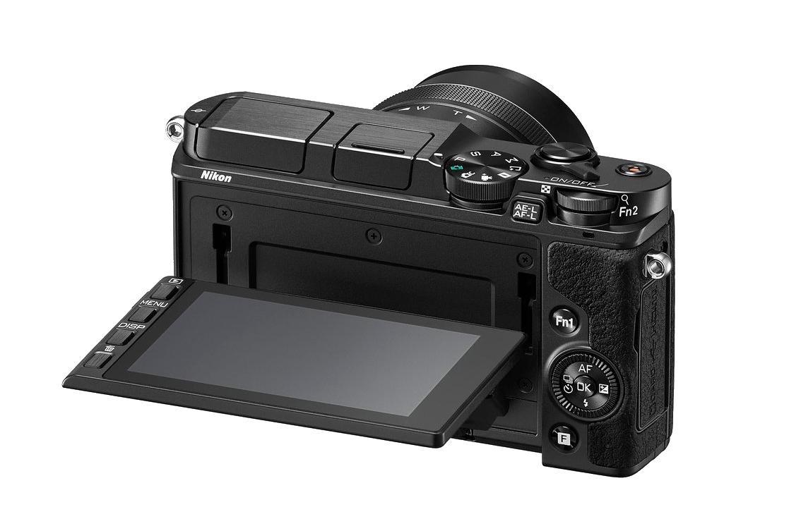 Nikon 1 V3 - Kantelbaar LCD Touchscreen