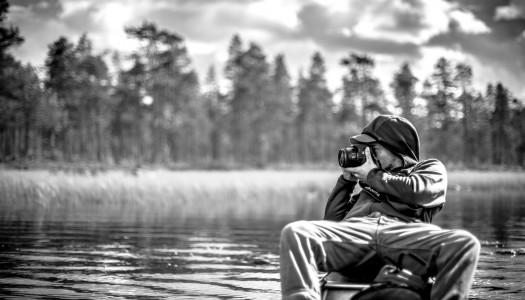 Fotograferen in Zweden & Noorwegen (vanuit een kano)
