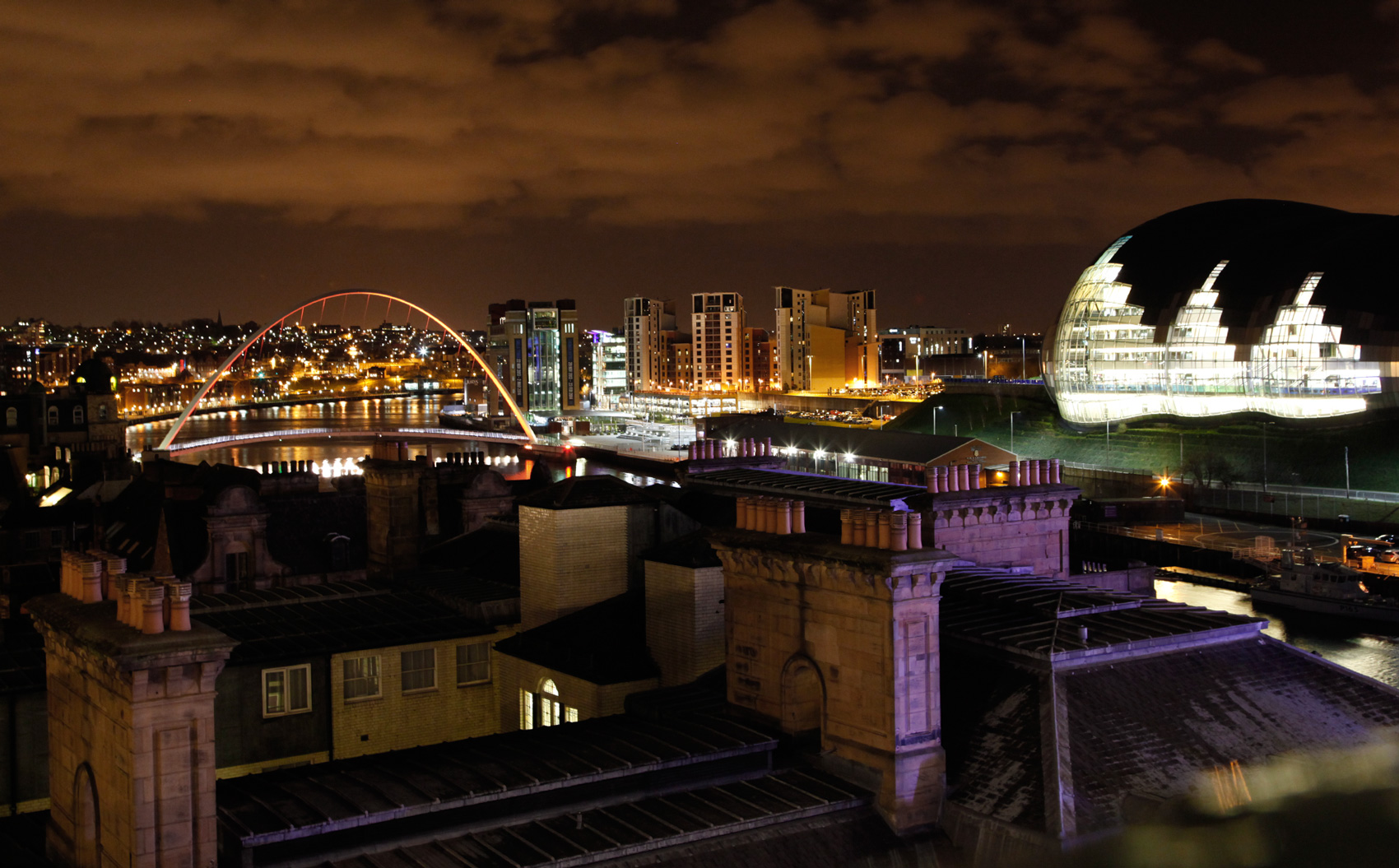 Newcastle Stedentrip